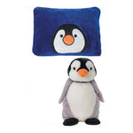 Penguin Peek-a-Boo Pillow