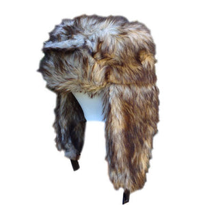 Youth/Adult Chewie Faux Fur Trapper Hat