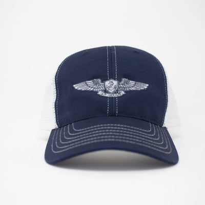Air Warfare Specialist Trucker Hat- Navy Blue