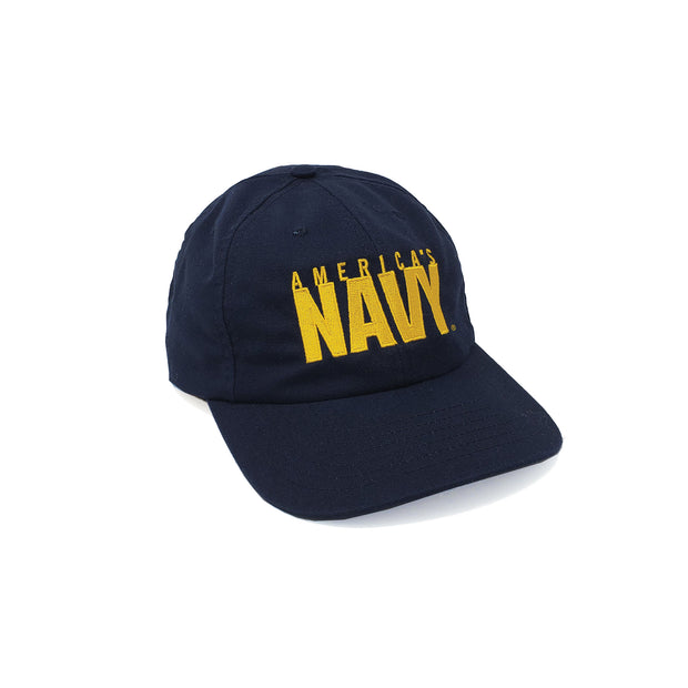 America's Navy American-Made Unstructured Hat - Navy & Gold