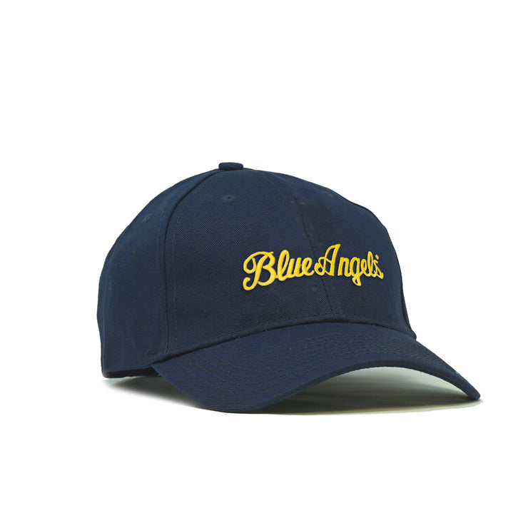 Blue Angels Script American-Made Structured Hat