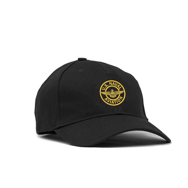 Naval Aviation Patch American-Made Structured Hat