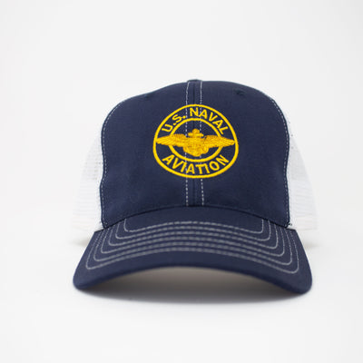 Naval Aviation Trucker Hat - Navy