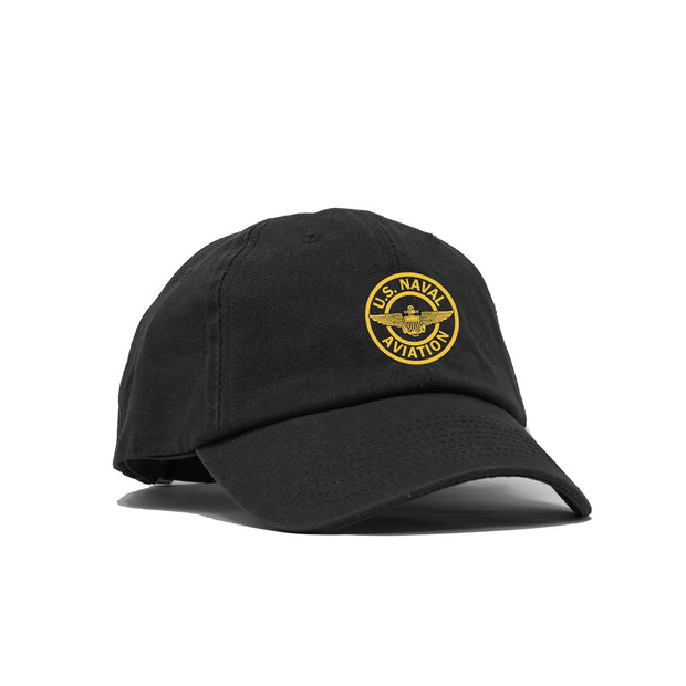 Naval Aviation Patch American-Made Unstructured Hat