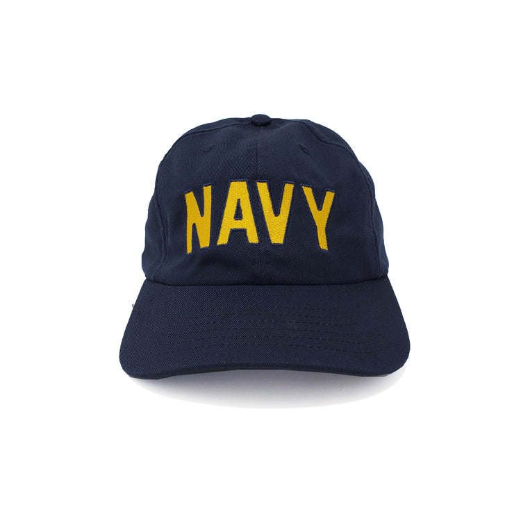Navy Arch American-Made Unstructured Hat - Navy
