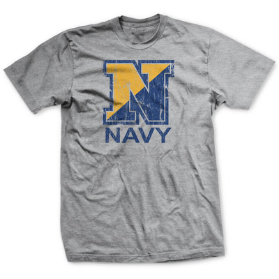 "The Big ""N"" Navy T-Shirt"