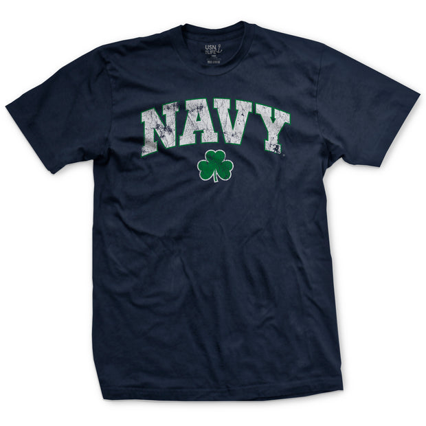 Navy Arch St. Patrick's Day T-Shirt