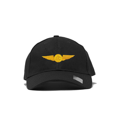 Naval Aircrew Structured Hat- Black
