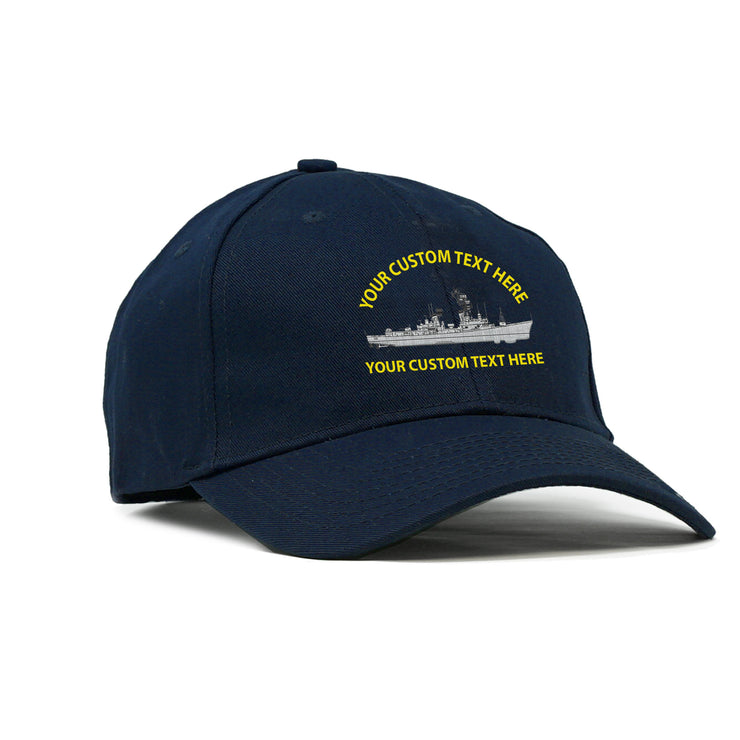 Custom American-Made Ship Structured Cap
