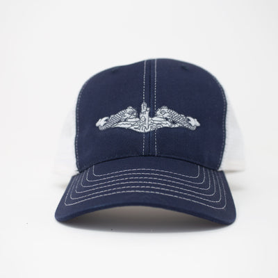 Submarine Warfare Trucker Hat- Enlisted - Navy