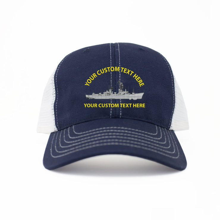 Custom American-Made Ship Trucker Cap
