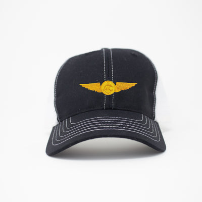 Naval Aircrew Trucker Hat - Black