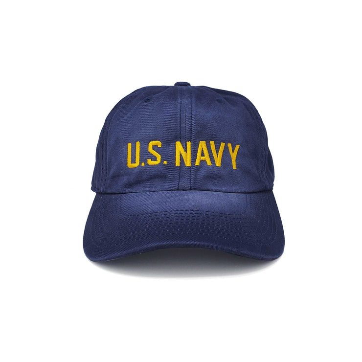 U. S. Navy Salt Washed Unstructured Hat