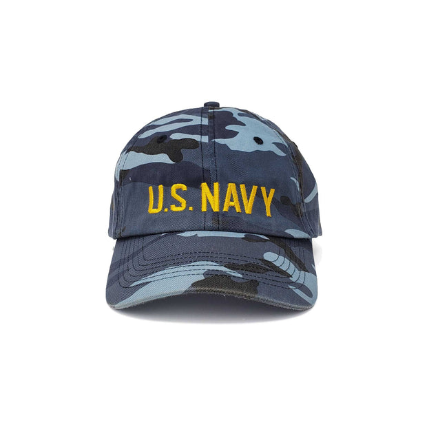U. S. Navy Camo Washed Unstructured Hat