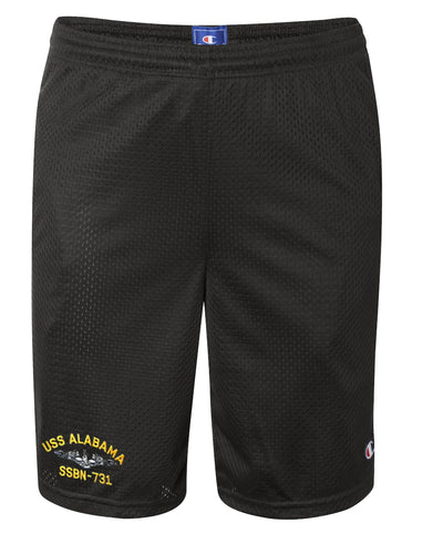 USS Alabama SSBN-731 Mesh Champion® Shorts