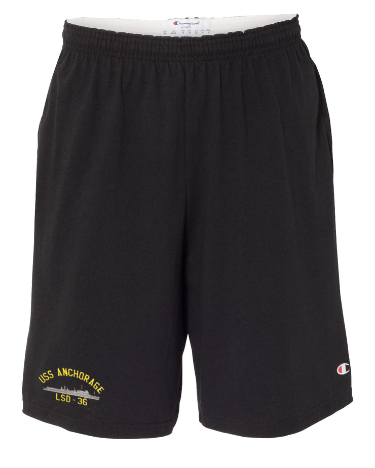 USS Anchorage LSD-36 Cotton Champion® Shorts