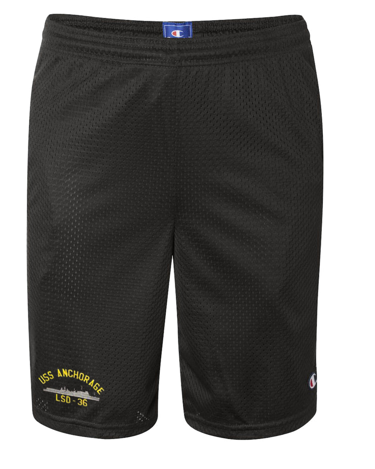 USS Anchorage LSD-36 Mesh Champion® Shorts