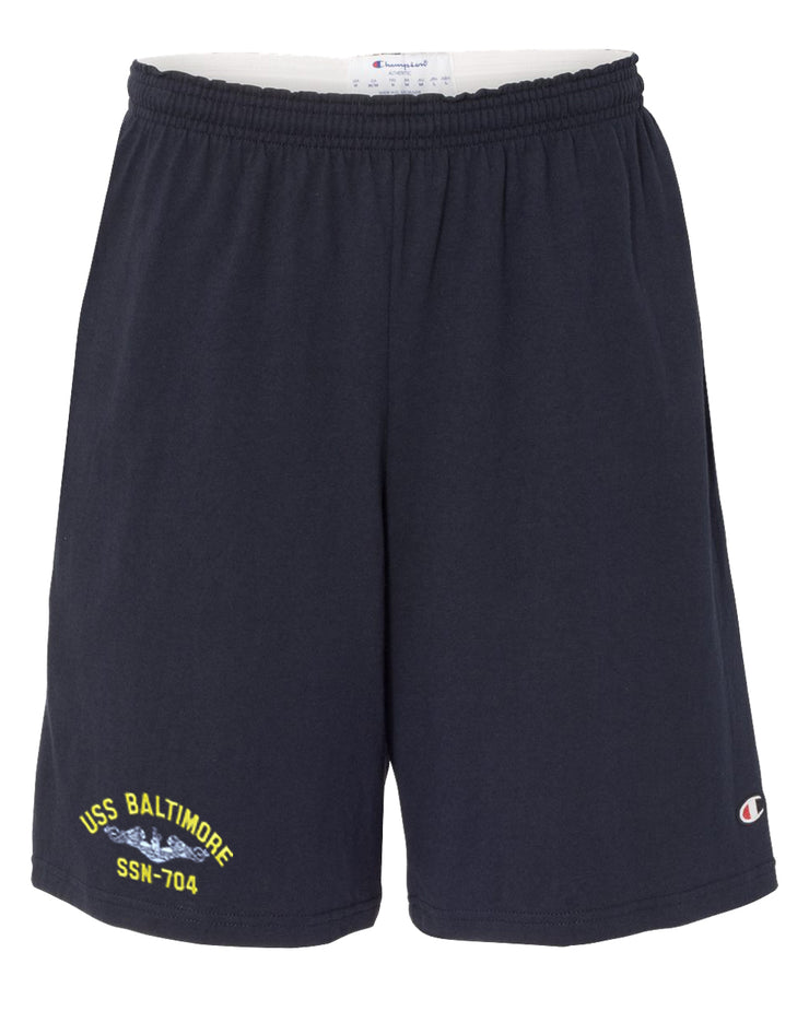USS Baltimore SSN-704 Cotton Champion® Shorts