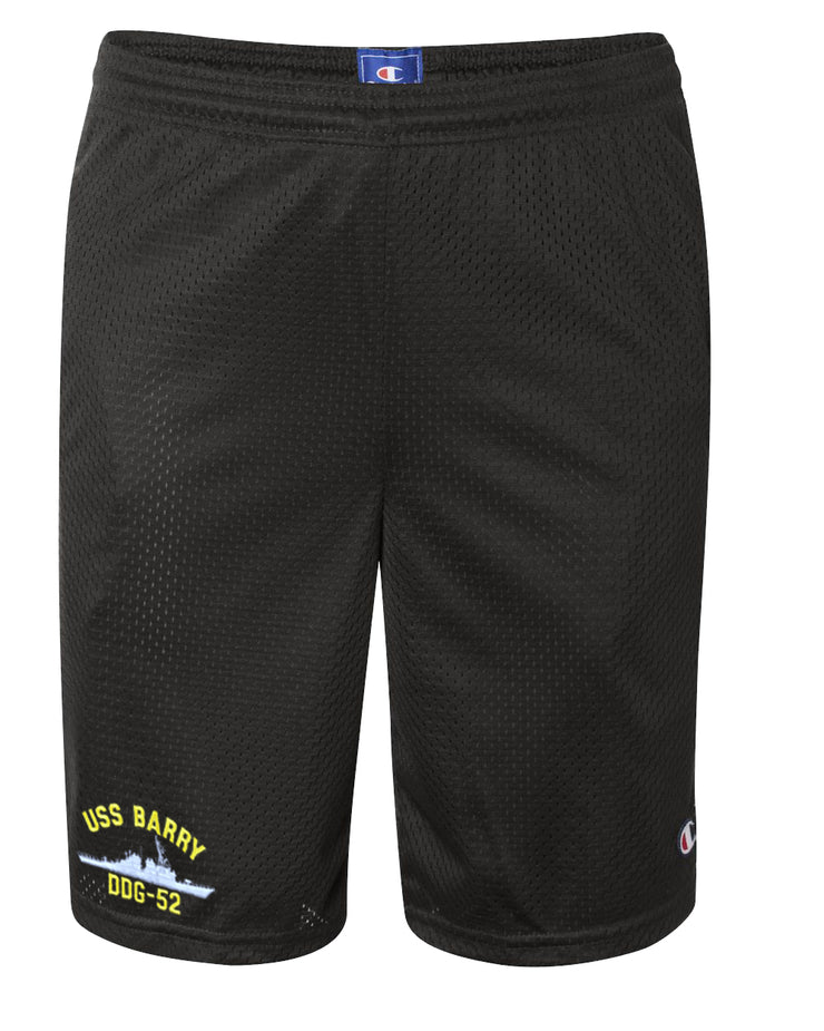 USS Barry DDG-52 Mesh Champion® Shorts