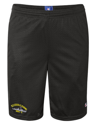 USS Charles Adams DDG-2 Mesh Champion® Shorts