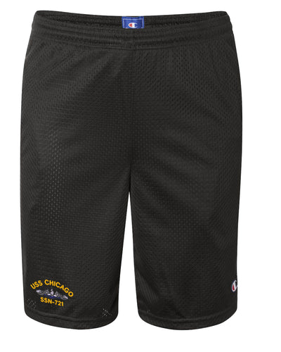 USS Chicago SSN-721 Mesh Champion® Shorts
