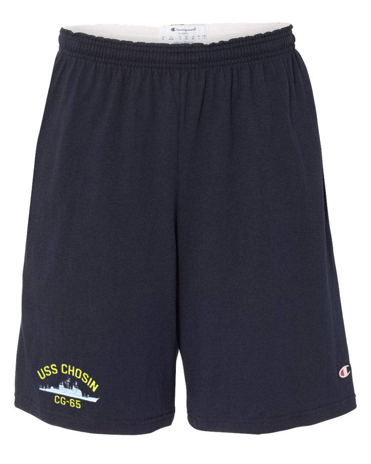 USS Chosin CG-65 Cotton Champion® Shorts