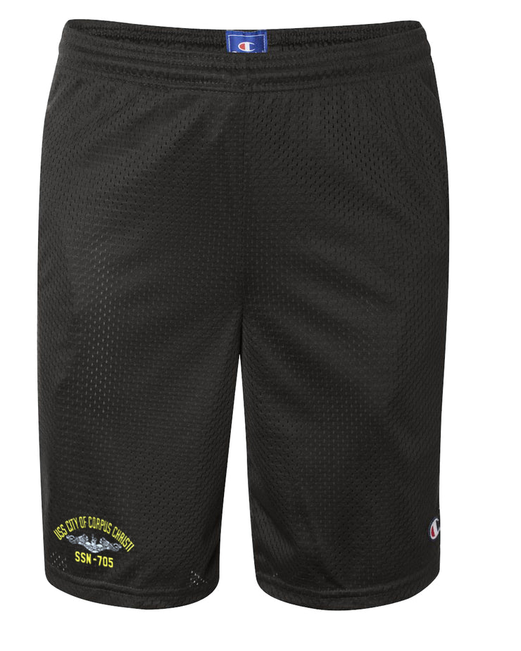 USS City of Corpus Christi SSN-705 Mesh Champion® Shorts