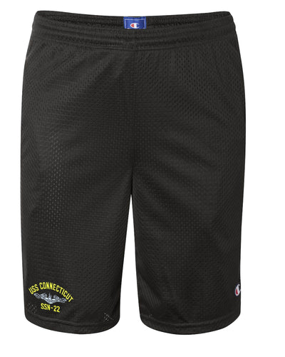 USS Connecticut SSN-22 Mesh Champion® Shorts