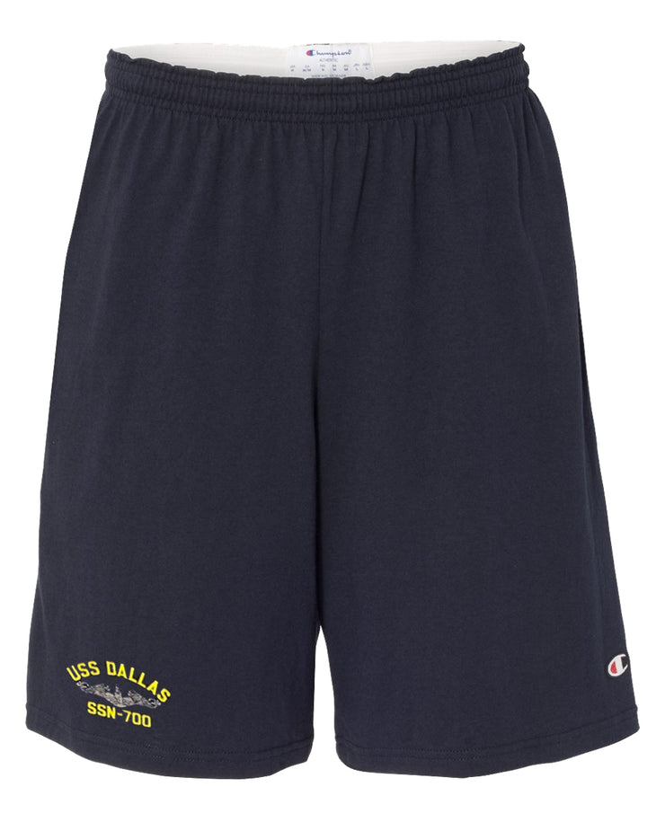 USS Dallas SSN-700 Cotton Champion® Shorts