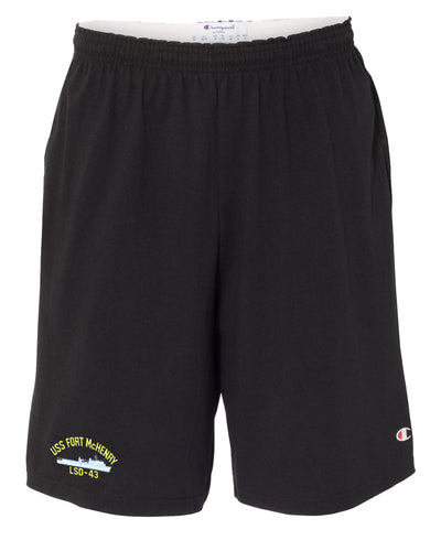 USS Fort McHenry LSD-43 Cotton Champion® Shorts