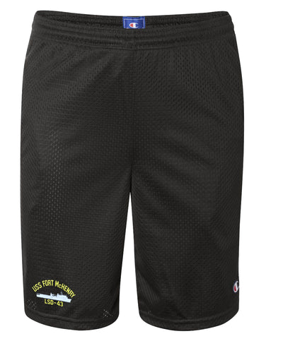 USS Fort McHenry LSD-43 Mesh Champion® Shorts