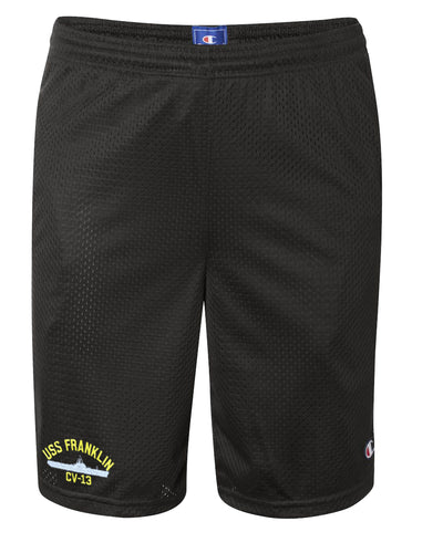 USS Franklin CV-13 Mesh Champion® Shorts