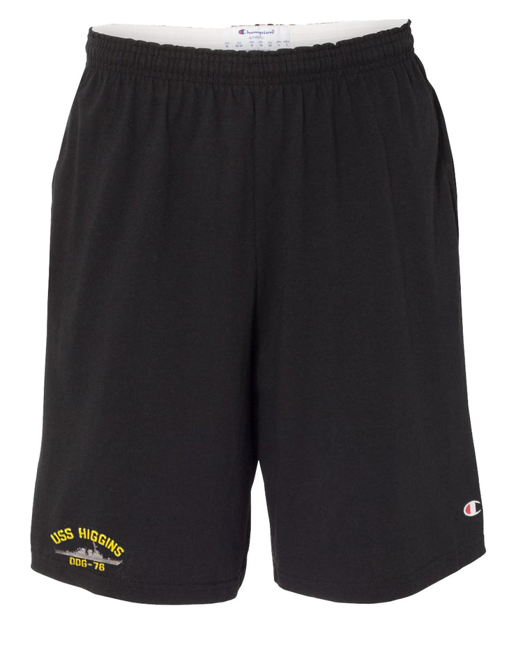 USS Higgins DDG-76 Cotton Champion® Shorts