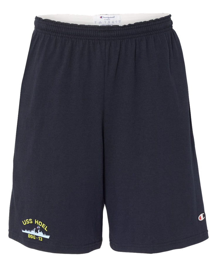USS Hoel DDG-13 Cotton Champion® Shorts