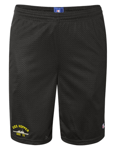 USS Hopper DDG-70 Mesh Champion® Shorts