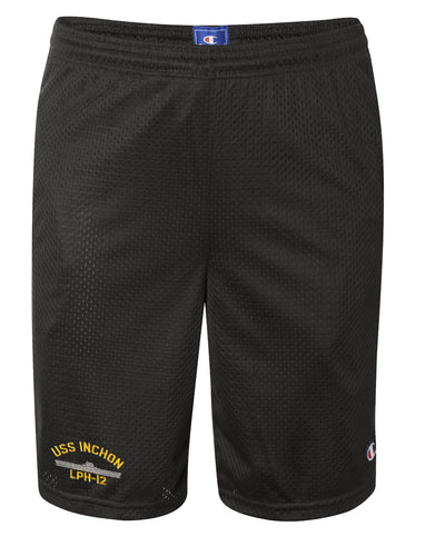 USS Inchon LPH-12 Mesh Champion® Shorts
