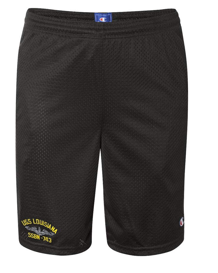 USS Louisiana SSBN-743 Mesh Champion® Shorts