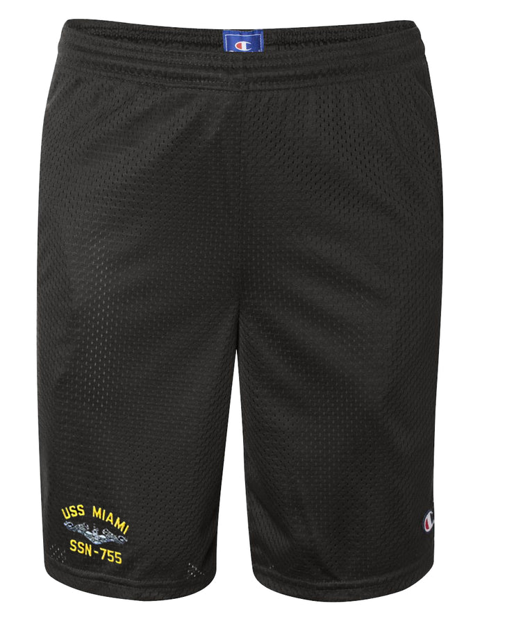 USS Miami SSN-755 Mesh Champion® Shorts