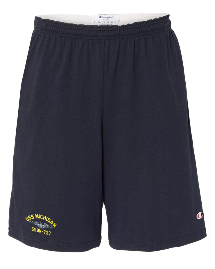 USS Michigan SSBN-727 Cotton Champion® Shorts