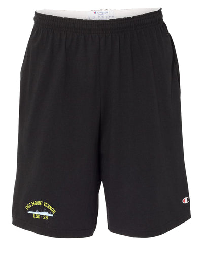 USS Mount Vernon LSD-39 Cotton Champion® Shorts