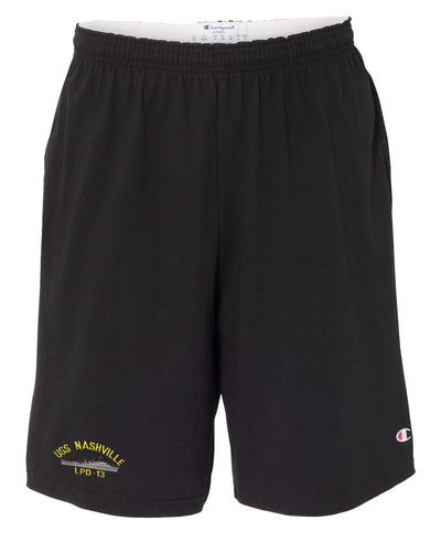 USS Nashville LPD-13 Cotton Champion® Shorts