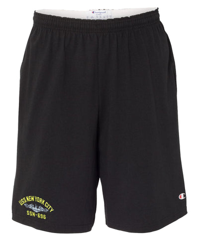 USS New York City SSN-696 Cotton Champion® Shorts
