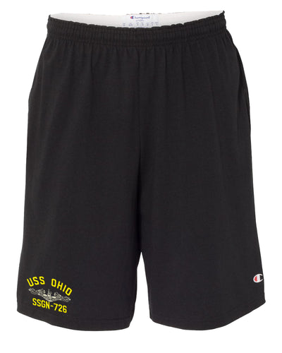 USS Ohio SSGN-726 Cotton Champion® Shorts