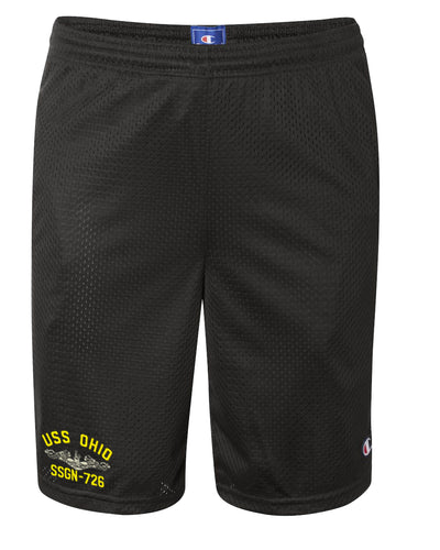USS Ohio SSGN-726 Mesh Champion® Shorts