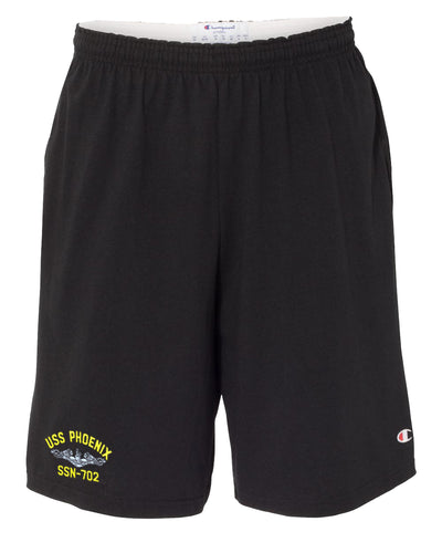 USS Phoenix SSN-702 Cotton Champion® Shorts