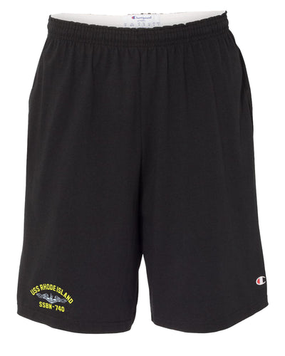 USS Rhode Island SSBN-740 Cotton Champion® Shorts