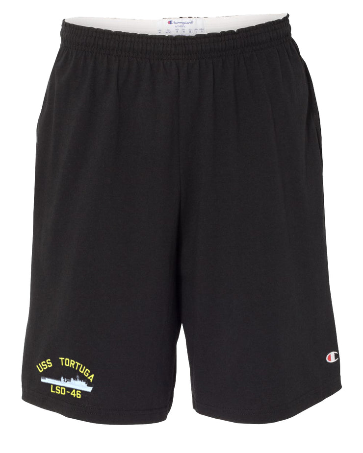 USS Tortuga LSD-46 Cotton Champion® Shorts
