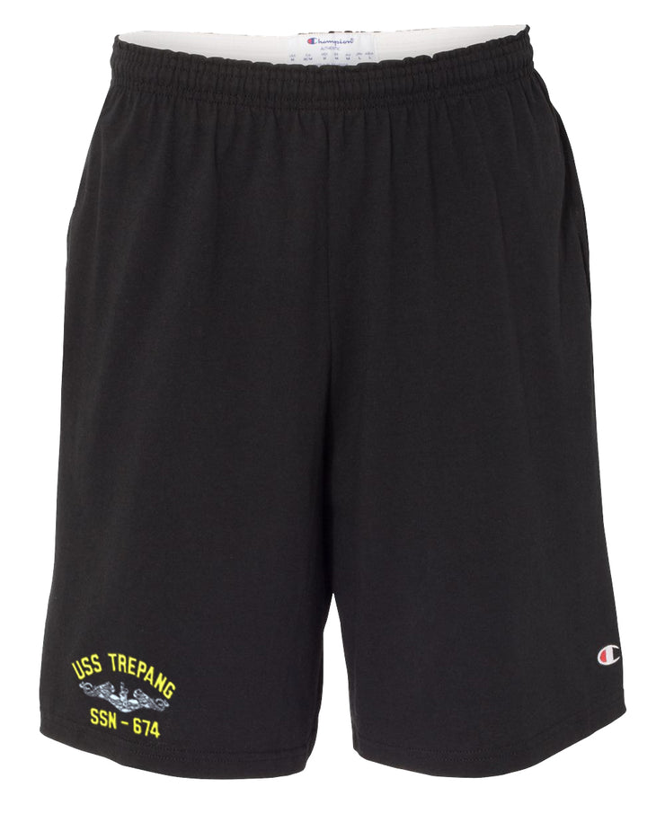 USS Trepang SSN-674 Cotton Champion® Shorts