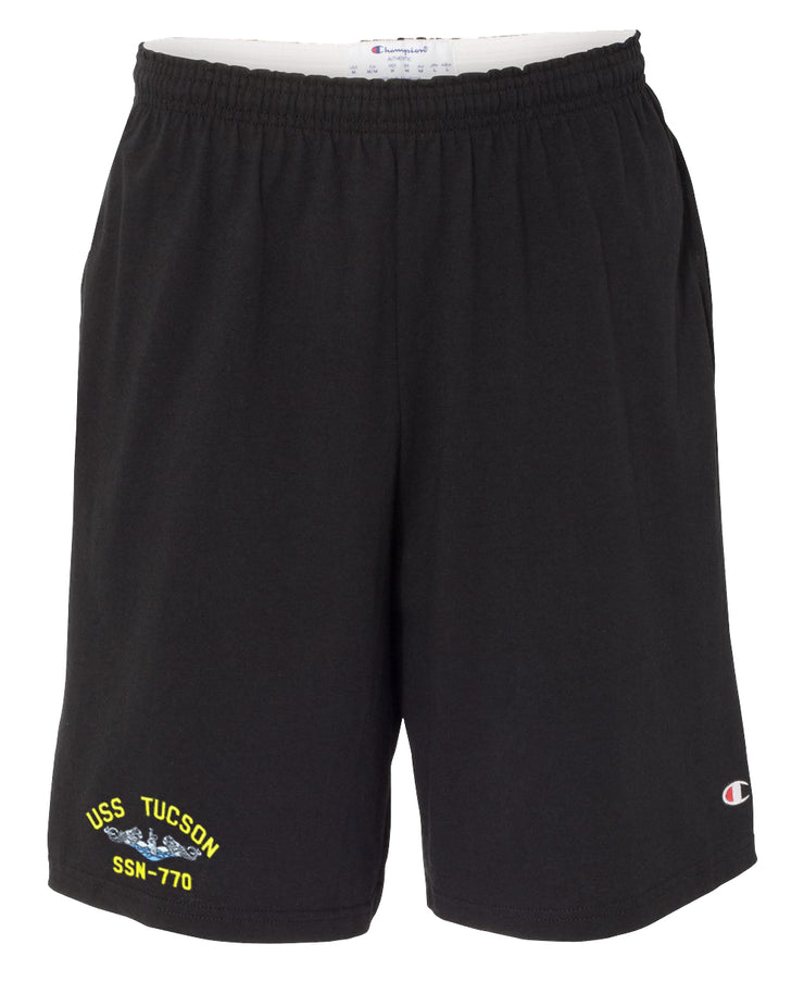 USS Tucson SSN-770 Cotton Champion® Shorts