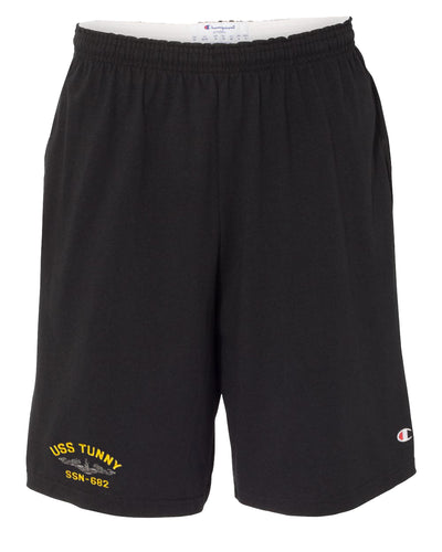 USS Tunny SSN-682 Cotton Champion® Shorts
